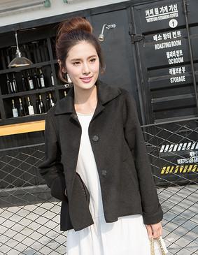 YCCW9-0001 名媛气质连衣裙 白色 S