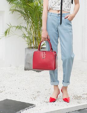 服装积分兑换 YCCW6-0017 男友式简约牛仔长裤 蓝色 L