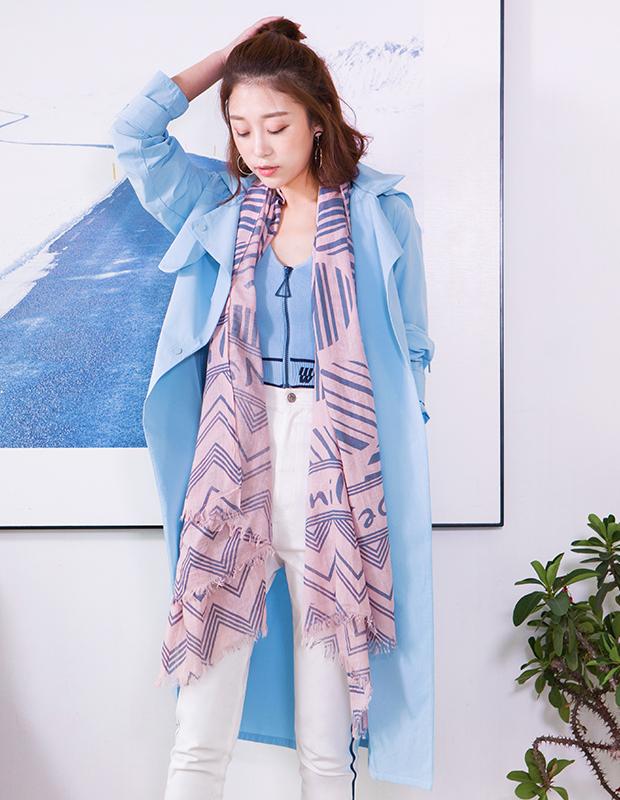 【伊霓裳】YNS77 蓝风衣便携式经典套装