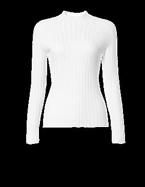 D191156-2 北欧风保暖打底毛衣 米白色 2XL