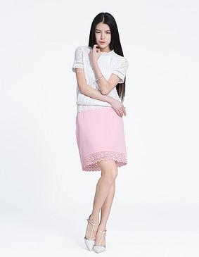 YCAL1-5100 精致蕾丝小衫 白色 S